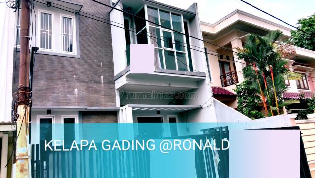 KEREN BINGITS!! RUMAH BARU MINIMALIS 8X16 DEKAT LAPIAZA KELAPA GADING, Kelapa Gading, Jakarta Utara