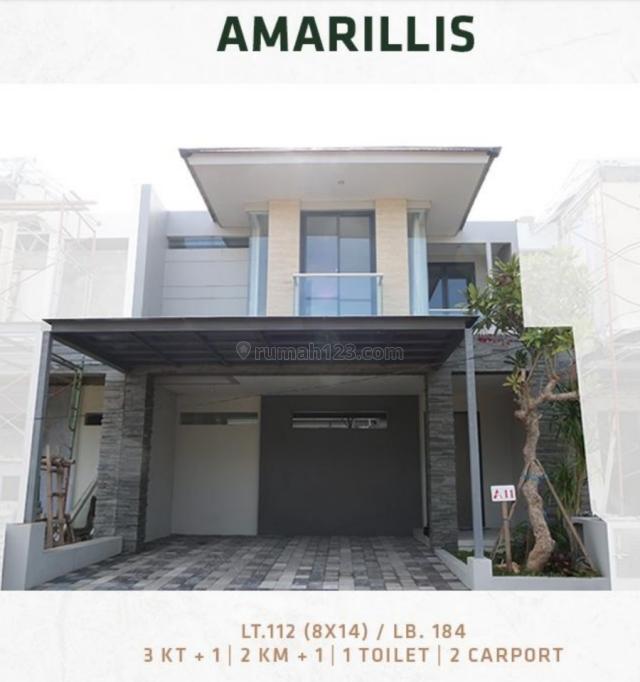 Rumah Minimalis Springville Residence Type Amarilis, Rungkut, Surabaya
