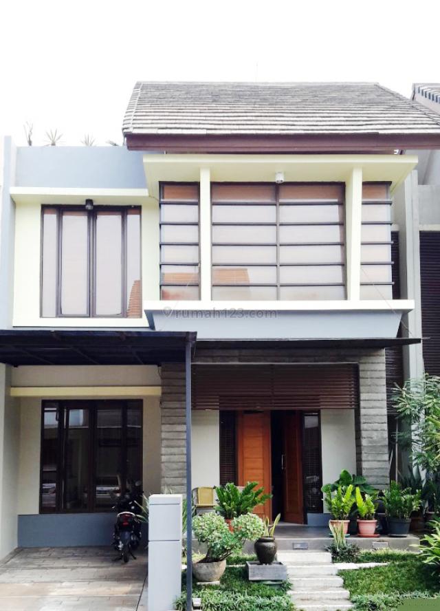 Rumah Full Furnished Turun Harga di Emerald Residence Bintaro, Bintaro, Tangerang