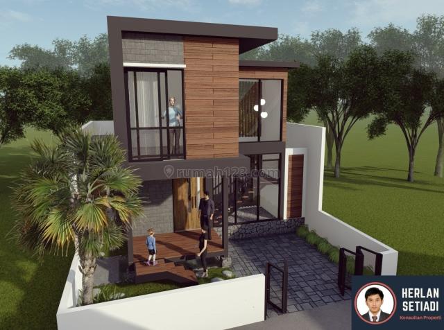 Rumah Villa Twilight 2 Lantai ALL IN DISKON 25juta Lembang Bandung, Parongpong, Bandung