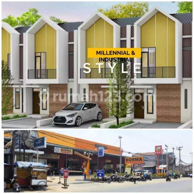 Rumah Mewah Harga Murah Modal 20jt aja,2lantai di Kopo Katapang Bandung,dkt tol soroja, Katapang, Bandung