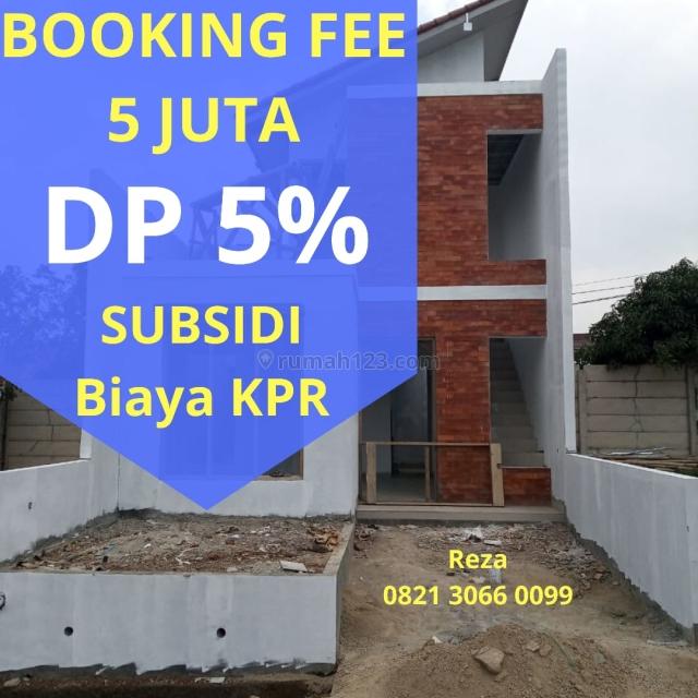 Rumah 2 Lantai Adem Impian Bergaya Bali di Cimahi Utara Dekat Tol. BISA KPR, Cisarua, Bandung