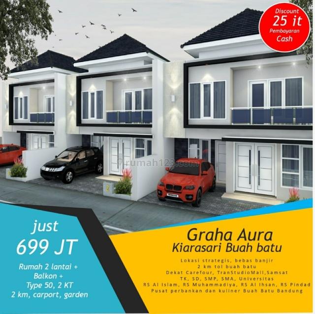 perumahan kiara aura asri (Kiaracondong), Astanaanyar, Bandung