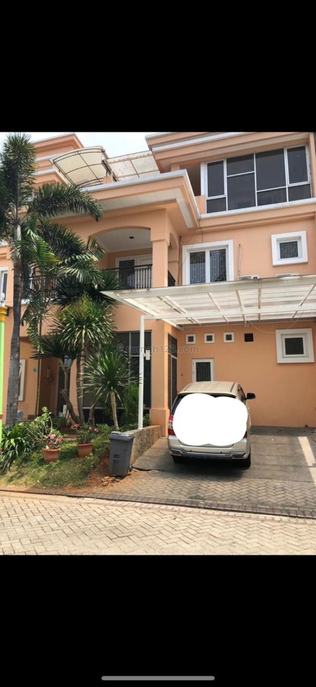 RUMAH TOWN HOUSE MEDITERANIA RESORT PIK 8X20M2, VIEW DANAU RP 8,5M, Pantai Indah Kapuk, Jakarta Utara