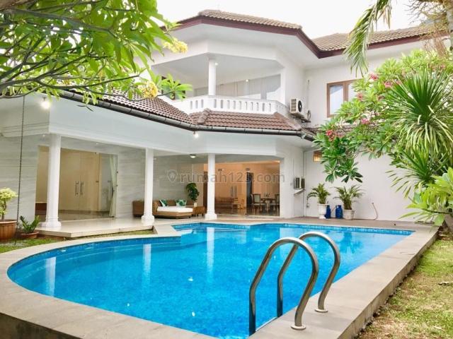 Rumah di Kemang, Ampera, Jakarta Sealtan ~ Furnished ~ Swimming Pool, Kemang, Jakarta Selatan