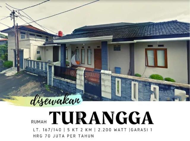 Rumah 1 LT Full Furnished Dalam Komplek Turangga, dekat Trans Studio, Turangga, Bandung