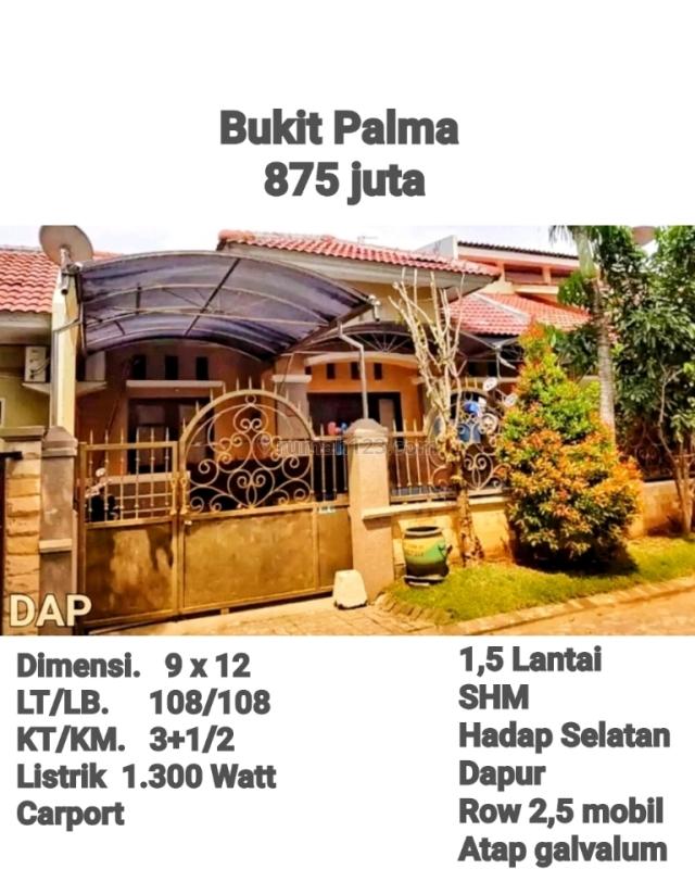 Rumah Murah BU Bukit Palma Citraland - Wiyung Darmo Surabsya Barat KPR, Citraland, Surabaya
