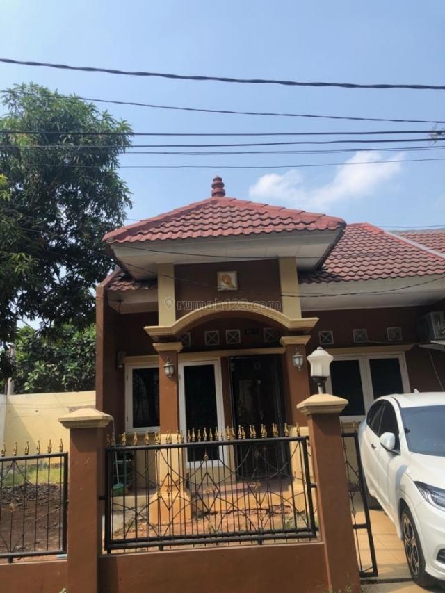 Rumah di hook masih ada tanah sisa sangat asri, Bojong Kulur, Bogor