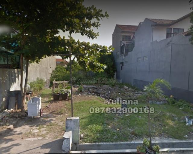 Tanah Bagus bentuk kotak siap dibangun di Jl. Pusponjolo, Semarang, Pusponjolo, Semarang
