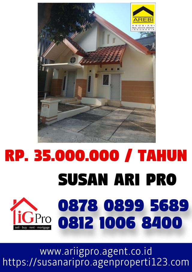 Rumah Cantik di Alam Sutera Dekat Gading Serpong Dan Bsd, Alam Sutera, Tangerang
