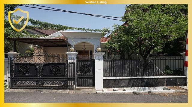 Rumah siap huni di mampang prapatan dalam komplek 24 jam security, Mampang Prapatan, Jakarta Selatan
