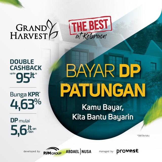 Rumah GRAND HARVEST - Update SISA 15% saja - MANIZ dan SEXY BOHAY, Bikin JATUH CINTRONG pada PANDANGAN PERTAMA (GRADE A++++), Wiyung, Surabaya