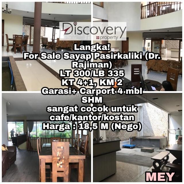 Rumah Sayap Pasir Kaliki (Dr. Rajiman) Strategis Kota Bandung, Pasir Kaliki, Bandung