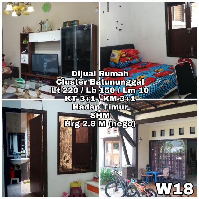 Rumah 2 Lantai di Batununggal Sentosa, Bandung, Batununggal, Bandung