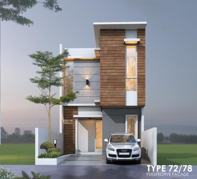 New Cluster 2 lantai strategis murah dekat tol Andara Antasari, Pondok Labu, Jakarta Selatan