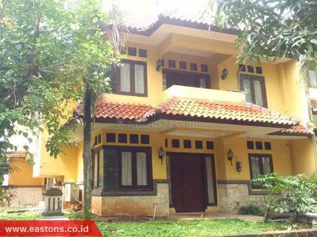 Rumah Asri, Nyaman, Aman & Akslusive Di Cirendeu (PD009135), Cireundeu, Tangerang