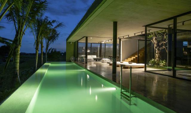 Freehold 4 Bedroom Brand New Breathtaking Rice Fields View Villa in Canggu Bali, Canggu, Badung