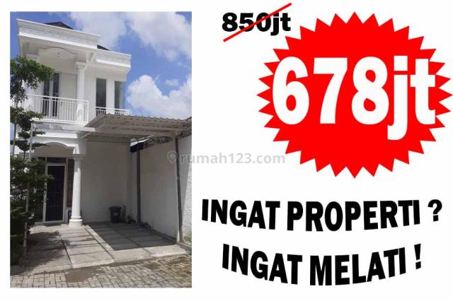 Rumah Cluster Mewah, Murah, Menarik 2 Lantai daerah BSD Serpong, Wangunharja, Tangerang