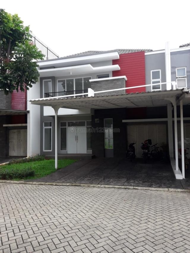 RUMAH DI CLUSTER AMIRIKA LATIN UKURAN 8x18 FULL FURNISH, Green Lake City, Jakarta Barat