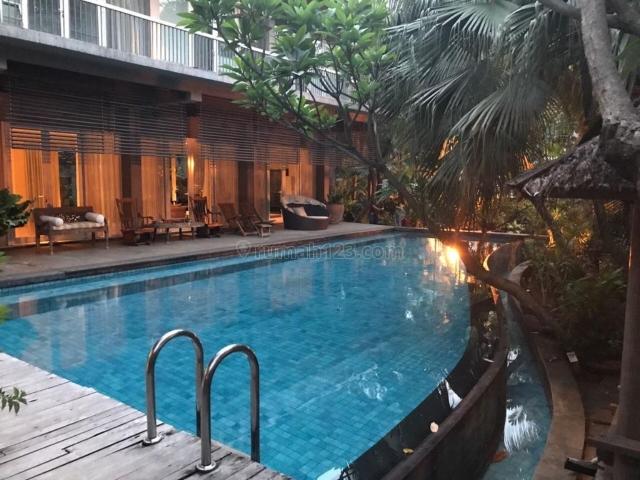 Rumah Taman Resort Mediterania Pantai Indah Kapuk, Pantai Indah Kapuk, Jakarta Utara