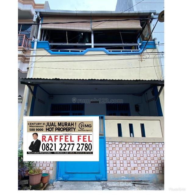 Rumah Pademangan, bangunan 2 lantai, non furnish, lokasi bagus, Pademangan, Jakarta Utara