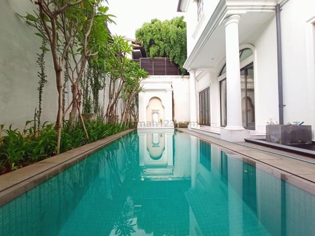 Rumah Mewah di Kebayoran Baru, Senopati, Jakarta Selatan