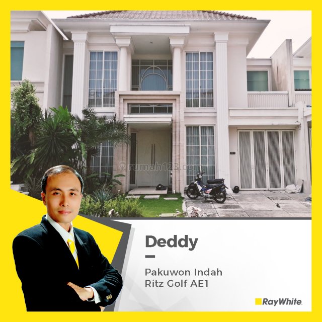Rumah Mewah di Pakuwon Indah, Jl. Ritz Golf Blok AE1, Lontar, Sambikerep, Surabaya