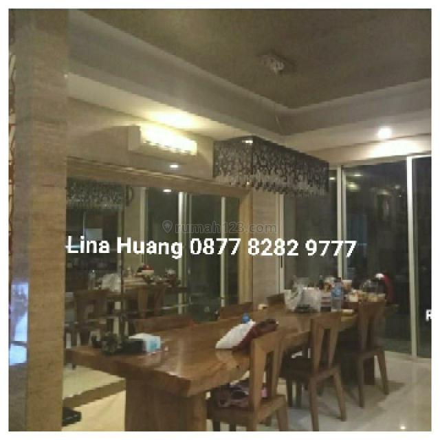 JARANG ADA , TURUN HARGA ! RUMAH HUK CROWN MANSION PIK , DOUBLE DEKKER , FULL MARMER, Pantai Indah Kapuk, Jakarta Utara