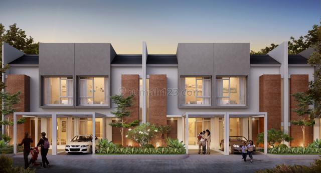 Rumah Cahaya 2 Lantai di Perumahan Grand Sharon Residence Bandung, Soekarno Hatta, Bandung