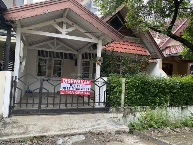 Rumah Pisok Bintaro Jaya - Hanya 1 Km Ke STAN, Bintaro, Tangerang