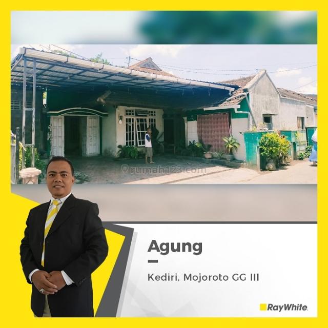 Rumah di Kediri Jl. Mojoroto Gg. III, Harga Istimewah, Mojoroto, Kediri