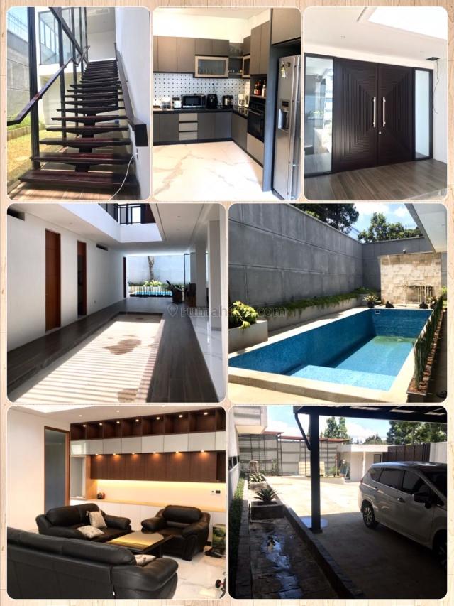 Rumah Lux, Baru, Full Furnished. ada kolam renang. Setiabudi, Setiabudi, Bandung