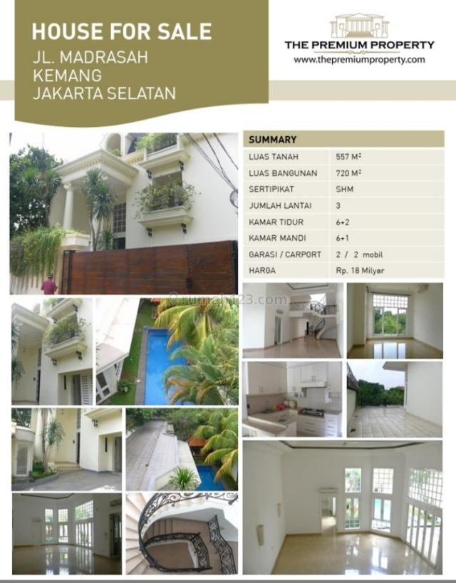 Rumah Mewah di daerah Kemang Jakarta Selatan, Kemang, Jakarta Selatan