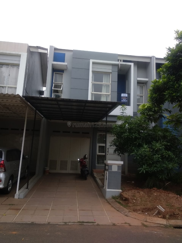 Rumah Cluster Dalton Luas 7x18, Semi Furnish, Rapih dan nyaman_ep, Gading Serpong, Tangerang