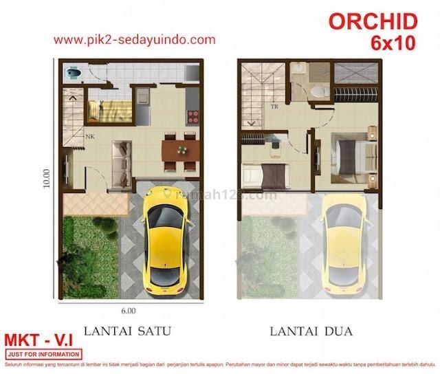 Rumah baru PIK 2 San Antonio Orchid jakarta utara murah cluster nyaman lengkap, Pantai Indah Kapuk, Jakarta Utara