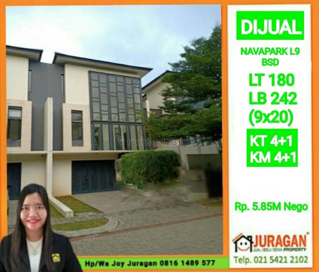 NAVAPARK L9 BSD 5.85M NEGO, BSD, Tangerang