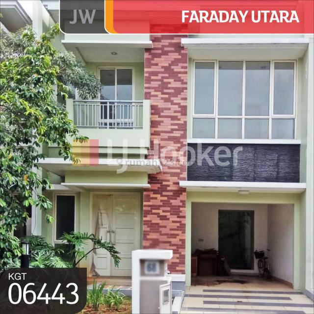 Rumah  Faraday Utara Gading Serpong, Tangerang, Banten, Serpong, Tangerang