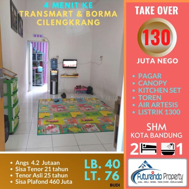 RUMAH TAKE OVER CILENGKRANG BANDUNG TIMUR, Cilengkrang, Bandung
