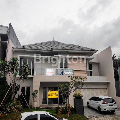Rumah Minimalis Mewah Elit Puri Sentra Raya PSR CitraLand Surabaya Barat Desain Interior, Citraland, Surabaya