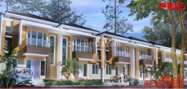 RUMAH GOLF ISLAND 8x20 TIPE PINE BRAND NEW, Pantai Indah Kapuk, Jakarta Utara