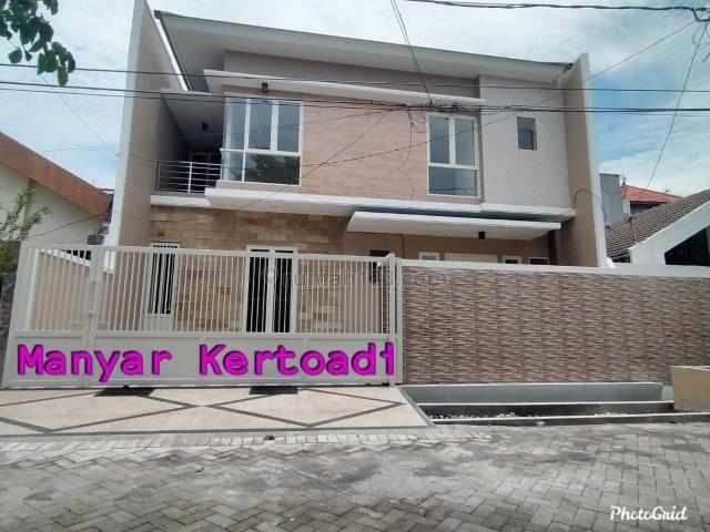 Rumah Baru Gress Manyar Kertoadi, Manyar, Surabaya
