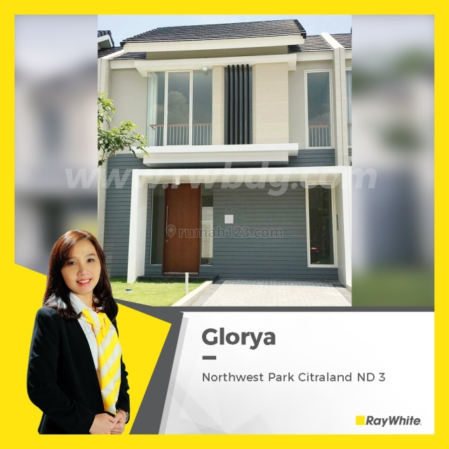 Rumah Baru Gres di Northwest Park ND, Citraland, Sipa Huni, Pakal, Surabaya