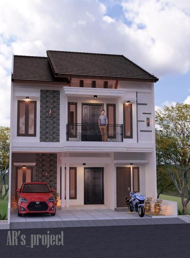 Rumah baru minimalis 2lantai, Jagakarsa, Jakarta Selatan