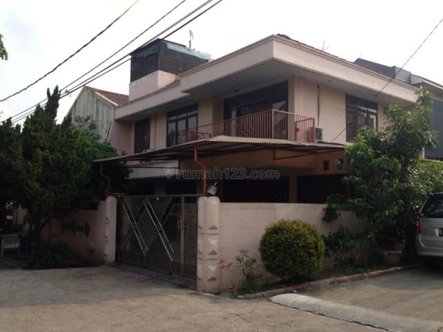 Rumah Hook 2 lantai di Kelapa Gading Hibrida, Kelapa Gading, Jakarta Utara