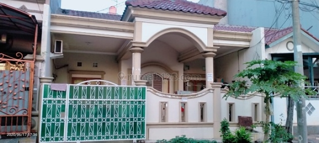 RUMAH STANDARD KOMPLEK VILLA DANAU INDAH LUAS 162 M2 LOKASI STRATEGIS JALAN 2 MOBIL 1 LANTAI HARGA BAGUS JARANG ADA NEGO., Sunter, Jakarta Utara