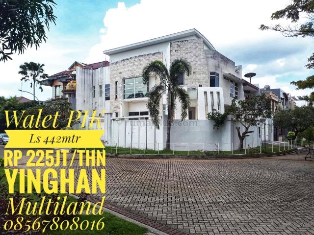 Rumah Hoek,Rapi,Siap Huni, Pantai Indah Kapuk, Jakarta Utara
