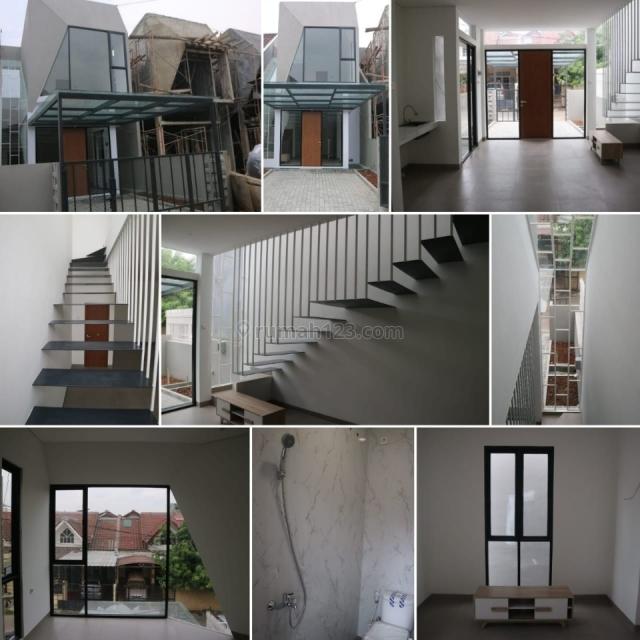 rumah bangunan baru mininalis....hrg negoo ampe deal, Citra Garden, Jakarta Barat