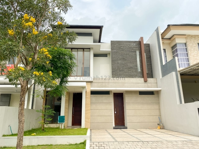Rumah Citraland Woodland Surabaya Desain Modern Minimalis, Citraland, Surabaya