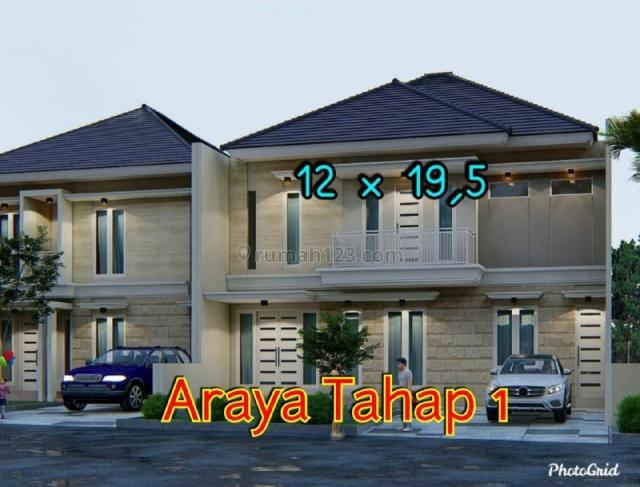 Rumah Araya 1 GALAXY BUMI PERMAI NEW GRESS MINIMALIS , Sukolilo, Surabaya