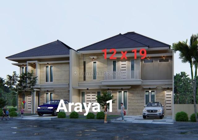 RUMAH BARU MINIMALIS Hook ARAYA I, Sukolilo, Surabaya